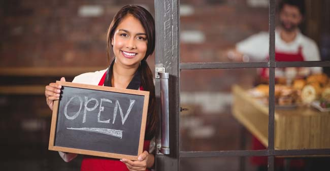 Young Woman Business Owner